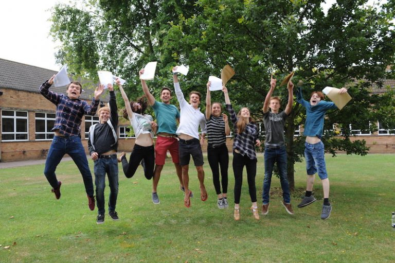 Chase Students Celebrate A Level Success