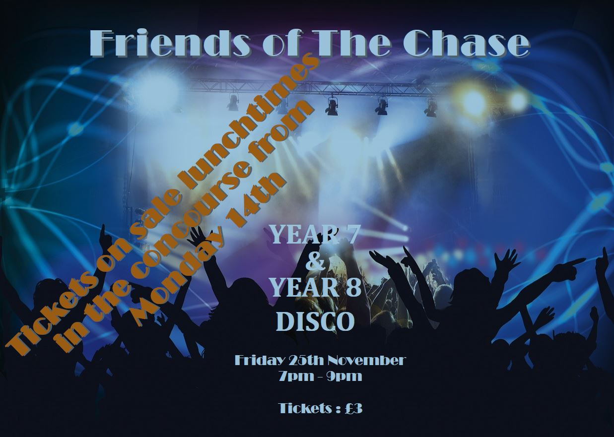 F.O.C Year 7 and 8 Disco