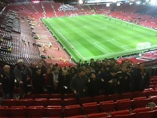 Triumph at Old Trafford!
