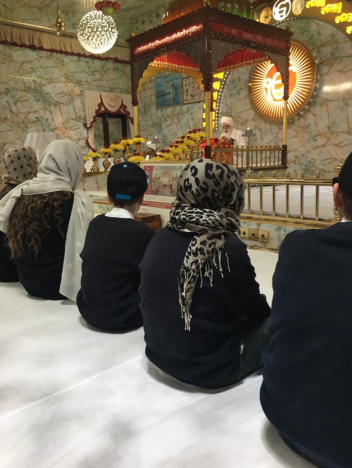 Year 8 at Gurdwara