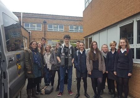 Oxford University MFL day at Hanley