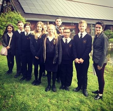 Flourishing Fivers visit St Richard's