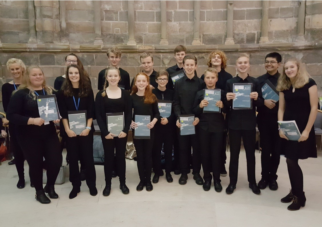 Chase singers perform at Worcester Cathedral