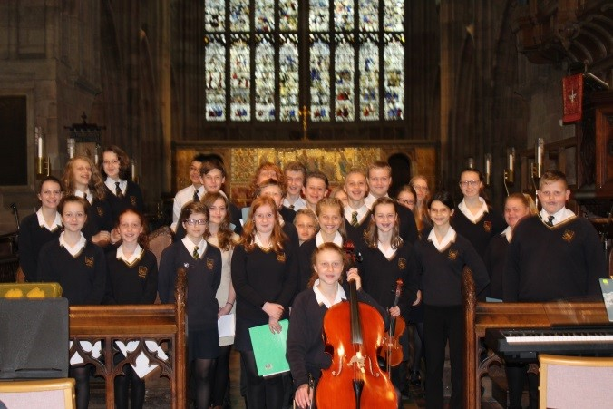 The Chase performs at Malvern Priory