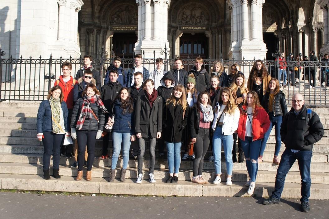 Sixth Form trip to Paris