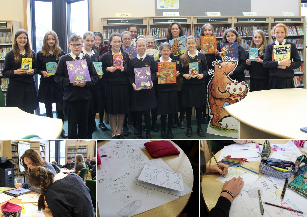 Children's Author & Illustrator visits The Chase