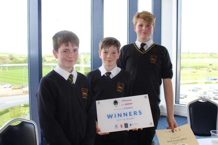Worcester Warriors - Worcester Bosch Enterprise Initiative Winners