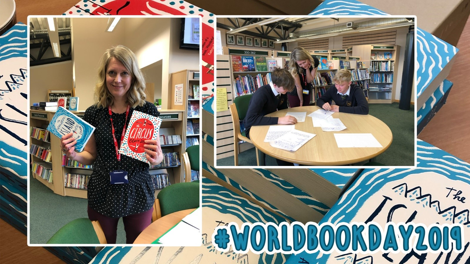 Young Adult author Olivia Levez visits The Chase