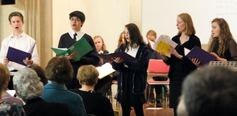 The Chase Chamber Choir join forces with the Malvern Male Voice Choir