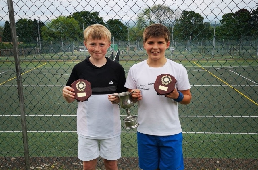 Chase School Tennis Doubles U14 Hereford & Worcester Champions!