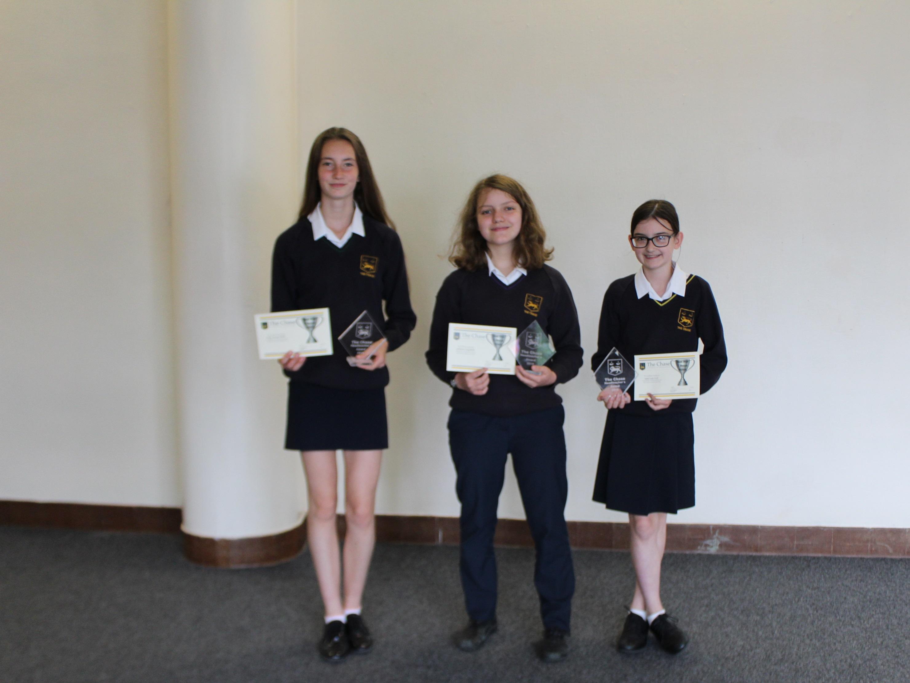 Heateacher Award for Highest Housepoints